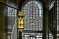 Inside the Fisher Building. Detroit, Michigan