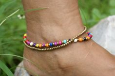 18 Tips for Choosing and Wearing Sterling Silver Anklets Sterling Silver Anklet, Silver Anklets, Beaded Anklets, Ankle Jewelry, Ankle Bracelets, Jewelry Making Beads, Beaded Jewelry, Jewelry Gifts, Jewelery