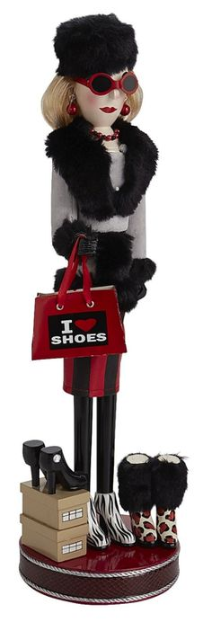 ~Shoe Lover Nutcracker | The House of Beccaria#