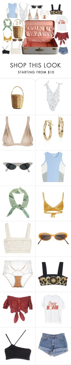 """Senza titolo #1692"" by styledincontrast ❤ liked on Polyvore featuring La Perla, Blue Nile, Jonathan Simkhai, Christian Dior, SHE MADE ME, Zimmermann, Yohji Yamamoto, For Love & Lemons, FAUSTO PUGLISI and Gipsy"