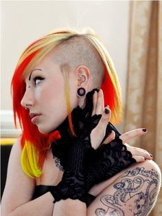 Suicide Girls// Porphyria // Blonde/Red/Yellow