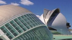 City of Arts and Sciences In Valencia in video format