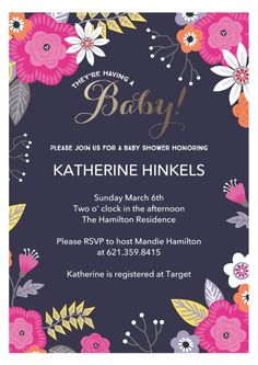 Its baby time invite family and friends to celebrate the mom to be invite family and friends to celebrate the mom to be with this whimsical baby shower invitation from hallmark give yourself a brea pinteres solutioingenieria Image collections