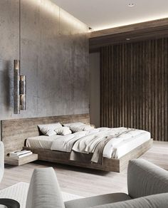 The most ideal approach to begin modernizing in your life is to have a modern bedroom. Modern bedroom decor can be generally easy to do. A couple of new modern frill… Continue Reading → Modern Master Bedroom, Modern Bedroom Decor, Master Bedroom Design, Minimalist Bedroom, Contemporary Bedroom, Home Bedroom, Stylish Bedroom, Beds Master Bedroom, Industrial Style Bedroom