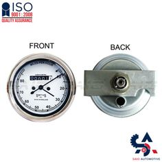 Smiths Replica Speedo Meter Speedometer 0-80 MPH White For BSA - Saio