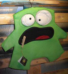 Klammerbeutel - Mr. Green von arthurkopf