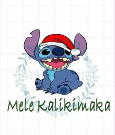 Stitch Christmas iron on - Stitching Projects Cute Stitch, Lilo And Stitch, Funny Phone Wallpaper, Disney Wallpaper, Disney Christmas, Disney Holidays, Cute Christmas Wallpaper, Stitch Drawing, Christmas Characters