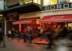 Awesome use of video background for restaurant. Brindisa Tapas Kitchens