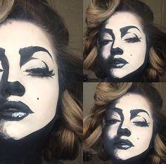 Marilyn Monroe Kostüm selber machen   Kostüm Idee zu Karneval, Halloween & Fasching