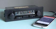 BLAUPUNKT LUDWIGSHAFEN CLASSIC VW BEETLE PORSCHE BMW 1970s RADIO AUX MP3 IPOD