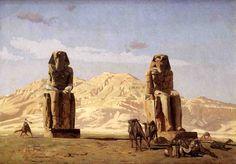 Jean-Léon Gérôme - Memnon and Sesotris