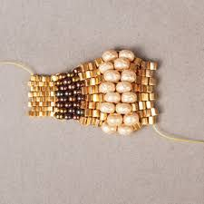80 Einzigartige Bilder Zu Ring Aus Perlen Bead Jewelry Beaded