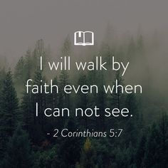 Bible Verse for Women About Walking By Faith