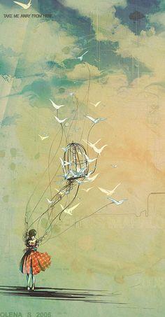 The Loved Birds - Olena Shmahalo