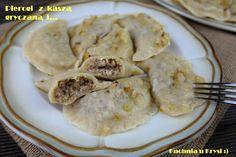 Kuchnia u Krysi : Pierogi z kaszą gryczaną i białym serem