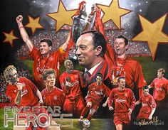♠ The Miracle of Istanbul #LFC #History #Legends #Artwork