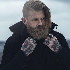 Viking Men - asifthisisme:   Josh Mario John photographed by...