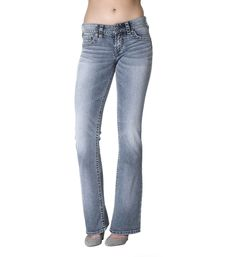 0bd92be23ed SUKI-Bootcut Jeans-Mid Rise Silver Jeans