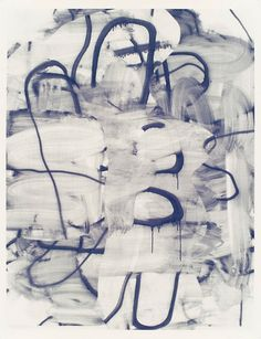 Christopher Wool Untitled 2007, Silkscreen ink on paper