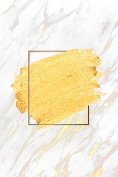 Gold paint with a golden rectangle frame on a white marble background vector Gold Background, Background Patterns, Textured Background, Family Background, Flower Backgrounds, Wallpaper Backgrounds, Iphone Wallpaper, Paint Wallpaper, Gold Wallpaper
