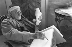 """ Photo of Matisse by Henri Cartier Bresson"