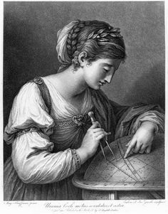 The muse Urania, 1 January by Zucchi, J. Museum quality art prints with a selection of frame and size options, canvases, postcards and mugs. SSPL Science and Society Picture Library Angelica Kauffmann, Greek Gods And Goddesses, Greek Mythology, Laurel Tree, Science Museum, Ancient Greece, Aesthetic Art, Pretty Pictures, The Magicians