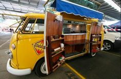 Great Food Truck Design for a VW T1
