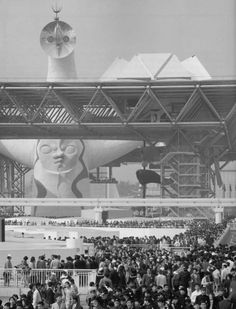 The Tower of the Sun and the Festival Plaza, Expo 70
