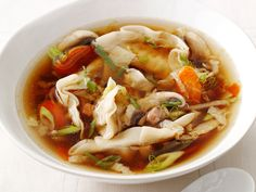 Dumpling Soup from FoodNetwork.com