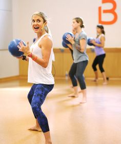 Barre class | Try barre workouts to tone and tighten your core, legs, and butt.