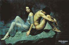 """""""Jeune homme assis au bord de la mer """" d'Hippolyte Flandrin (Parfum """"Rive Gauche"""" d'Yves Saint-Laurent)"""