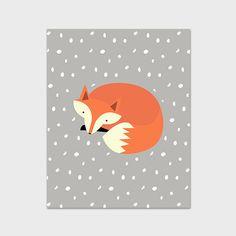 Hey, j'ai trouvé ce super article sur Etsy, chez https://www.etsy.com/ca-fr/listing/207498286/8-x-10-fox-pepiniere-impression