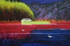 Hans Bruyneel   For Fear of Losing it (The Swans) (2016)   Artsy