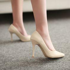 Temperament Europe Style Stiletto Heel Shoes: tidestore.com
