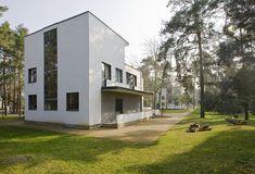 Meisterhäuser in Dessau, W. GROPIUS (maison de Kandinsky) 1926   Monumente Online