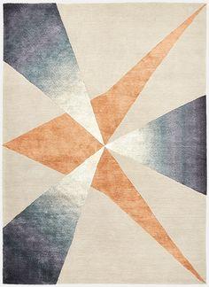 Deirdre Dyson: 'Pinnacle' rug (No. 92 2015 Collection)