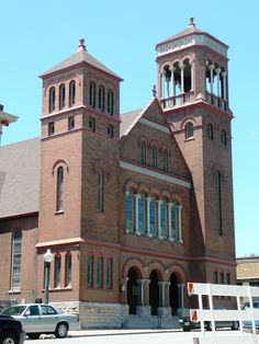 Fifth Street Baptist Church, Hannibal, Missouri, Chateauesque church