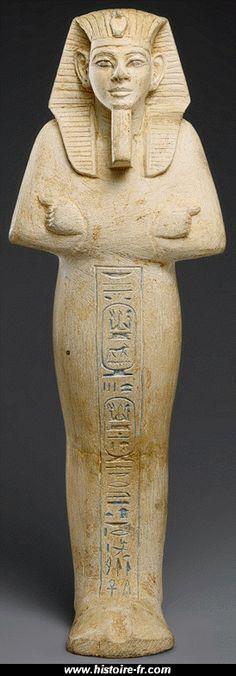 Ouchebti de Mérenptah. XIXe dynastie.