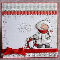 A Scrapjourney: Favourite Five Christmas cards