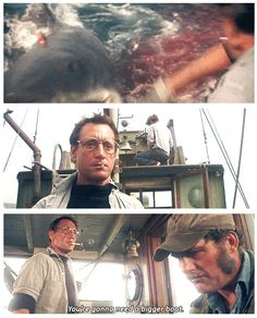 """""""You're gonna need a bigger boat"""" 