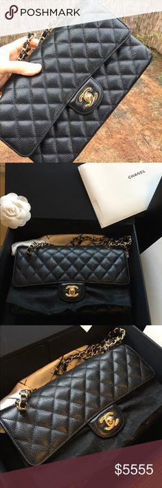 1f5334de8865 New-Chanel Medium Caviar Classic Flap-GHW Brand: Chanel Style: Classic Flap