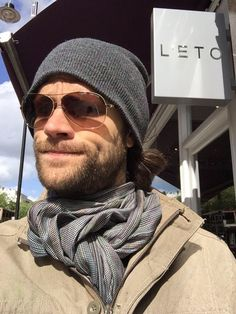 Jared sporting his beard