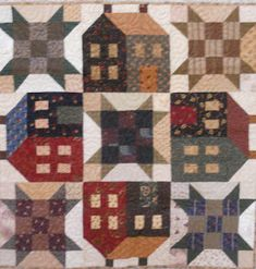 Log Cabin Quilter