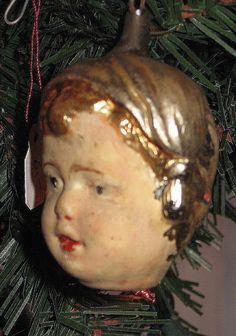 Antique Christmas ornament, German