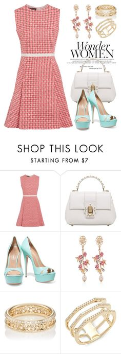 """""""Cute Dresses 3397"""" by boxthoughts ❤ liked on Polyvore featuring Giambattista Valli, Dolce&Gabbana, Casadei, WithChic, Hoorsenbuhs and Ron Hami"""