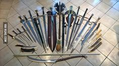 After seeing all your LOTR swords, I raise you mine. With (b)ananas for scale