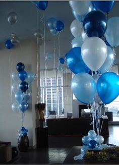 #blueballoons, #beautifiedballoons.
