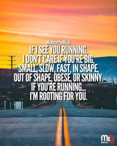 Learn how to lose fat and build muscle at the same time! fatmaninalittlesuit: fatmaninalittlesuit: keep running May 16 2019 at Track Quotes, Running Quotes, Workout Quotes, Running Motivational Quotes, Jogging Quotes, Running Memes, Keep Running, Running Tips, Running Track