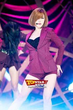 시크릿(Secret) 전효성, '섹시 카리스마 폭발하는 무대' …MBC MUSIC 쇼 챔피언 녹화 현장 [KPOP PHOTO]