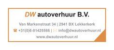 DW autoverhuur uit Lekkerkerk is de nieuwe adverteerder op Koopplein Krimpenerwaard. Voor het huren van een auto of een bestelwagen met laadklep in de Krimpenerwaard!